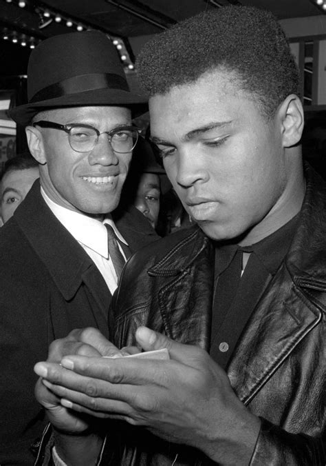 10 Photos of Muhammad Ali with Malcolm X - IlmFeed