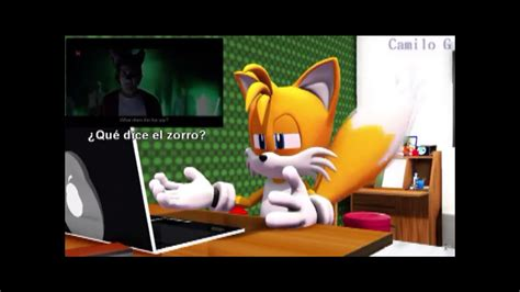 Tails Reacts To 'What Does The Fox Say' song English Dub