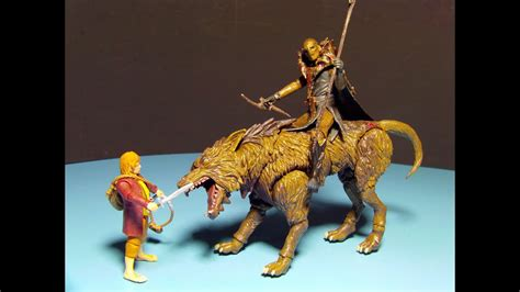THE HOBBIT FIMBUL and WARG ACTION FIGURE MOVIE TOY REVIEW