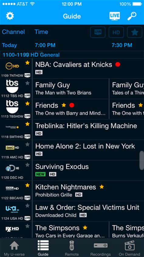 AT&T Releases Completely Redesigned U-verse App for iOS