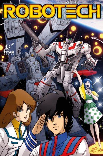 Robotech: Animated Series Characters Returning in Comic