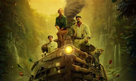 Dwayne Johnson and Emily Blunt embark on a Jungle Cruise